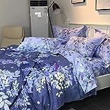 yaonuli Baumwolle Schleifen vierteilige Bettdecken Bett Nacht Sprache Zärtlichkeit erhöhen 2,0 m...