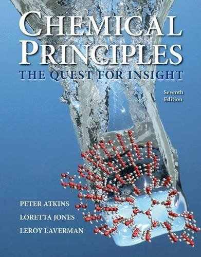 Chemical Principles: The Quest for Insight por Peter Atkins