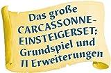 Hans im Glück SSP48279 Carcassonne Big Box 2017 Board Game
