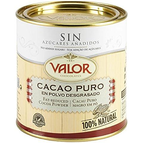 Chocolates Valor Cacao Puro en Polvo Desgrasado - 250 g