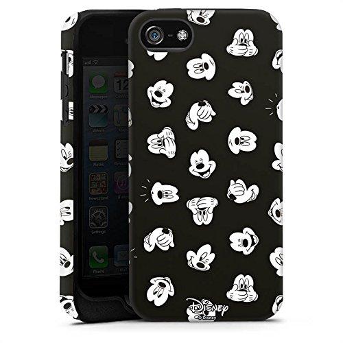 Apple iPhone X Silikon Hülle Case Schutzhülle Disney Mickey Mouse Fanartikel Geschenke Tough Case matt