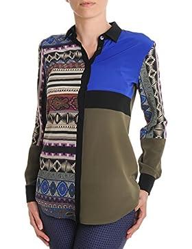Etro Camicia Donna 175705062200 Seta Multicolor