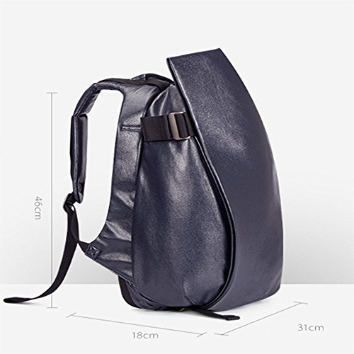 TBB-Rucksack Rucksack Reisen Outdoor Mode einfach Trend der großen Kapazität Computer Bag Small Grey A