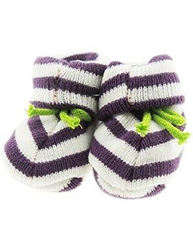 Super Cute neonato a righe maglia–Stivaletti Calze