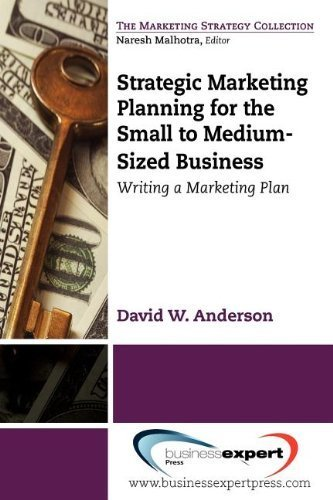 Strategic Marketing Planning for the Small to Medium Sized Business: Writing a Marketing Plan by Anderson, David (2012) Paperback par David Anderson