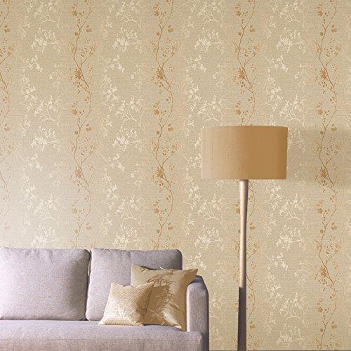 arthouse-orabella-floral-pattern-flower-leaf-metallic-vinyl-wallpaper-gold-673401