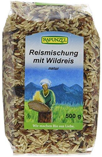 Rapunzel Reismischung mit Wildreis Bio, 500 g (Bio-wildreis)