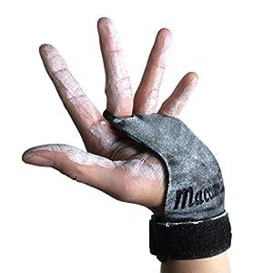 MACCIAVELLI – Pull Up Grips, Hand Grips, Wodies für Calisthenics, Crossfit, Freeletics, Gymnastik, Turnen – Alternative für Trainingshandschuhe und Fitness Handschuhe