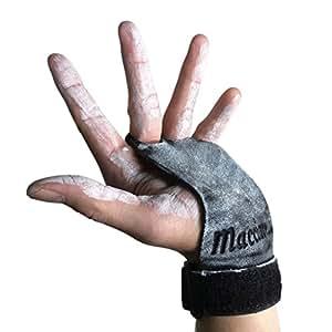 MACCIAVELLI - Pull Up Grips, Hand Grips, Wodies für Calisthenics, Crossfit, Freeletics, Gymnastik, Turnen - Alternative für Trainingshandschuhe und Fitness Handschuhe