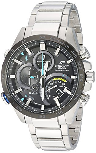 Casio Edifice Eqb501X Db-1a Time Traveller Smartphone Cadre noir montre