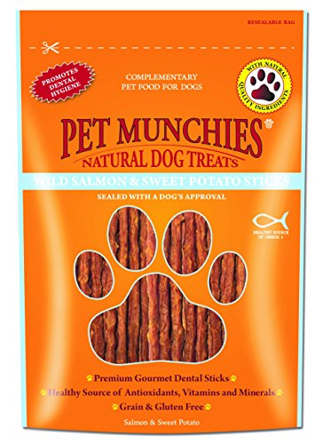 Pet Munchies - Snacks naturales de carne para perros (8 Paquetes) (8...