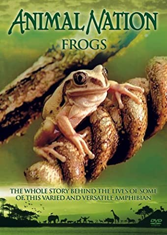 Animal Nation - Frogs [DVD]