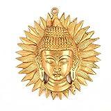 Indische Regal Messing Buddha Sun Maske Wand, multicolor, Standard