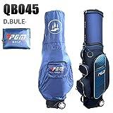 Pgm Pallina da Golf Borsa da Viaggio Ruote Stand Caddy Airbag di Volo Dell'aviazione Aeromobili di Grandi Dimensioni capacità di Golf Sacchetti Standard di Multi-Purpose,Blue