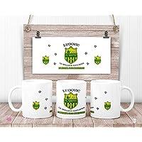 Mug FC Nantes personnalisé - Mug Football Club de Nantes - cadeau anniversaire - cadeau de noël