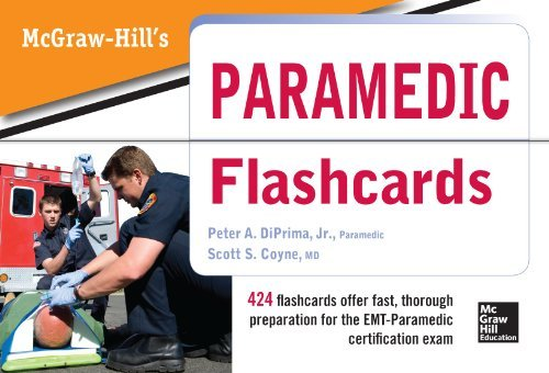 McGraw Hill's Paramedic Flashcards by Jr., Peter A. DiPrima (2013-05-13)