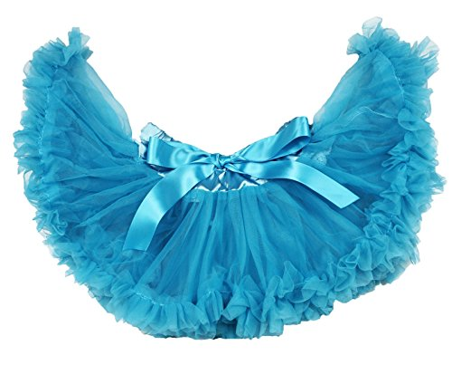 Girl Kostüm Peacock - Peacock Blue Baby Skirt Tutu Dress Girl Clothing 3-12m (Pfauenblau)
