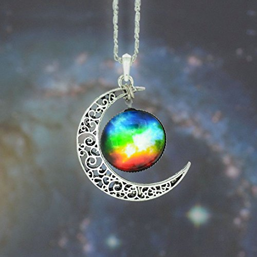 5starwarehouse-galaxy-pendant-silver-necklace-stars-colourful-glass-hollow-crescent-moon-space-with-