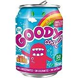 Goodycool Refresco Sabor Nube - Pack 24 Latas de 25 cl - Solo 50 calorías
