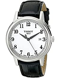 Tissot Herren-Armbanduhr Analog Quarz Leder T085.410.16.012.00