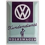 Nostalgic-Art 23224 Volkswagen - VW Kundendienst, Blechschild 30x40 cm