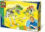 SES Creative 14958 - Metalldinosaurier Konstruktionsset, Spiel