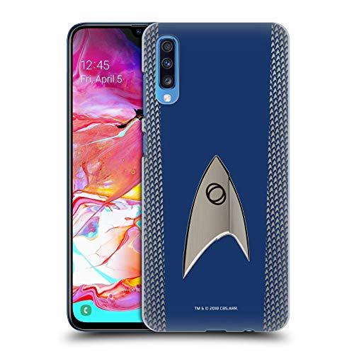 Head Case Designs Offizielle Star Trek Discovery Wissenschaft Uniformen Harte Rueckseiten Huelle kompatibel mit Samsung Galaxy A70 (2019) (Uniform Trek 2019 Star)