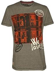 Desigual - amsterdam - t-shirt - graphique - homme
