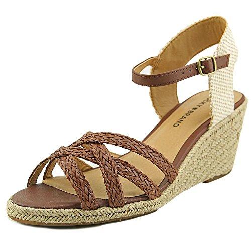lucky-brand-kalley-2-femmes-us-6-brun-sandales-compenses