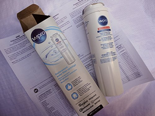 Wpro Replacement Compatible Refrigerator Ice Water Filter for Whirlpool  Every Drop Maytag OWF50-N130 fridge freezer - Replaces UKF8001 UKF8001/A