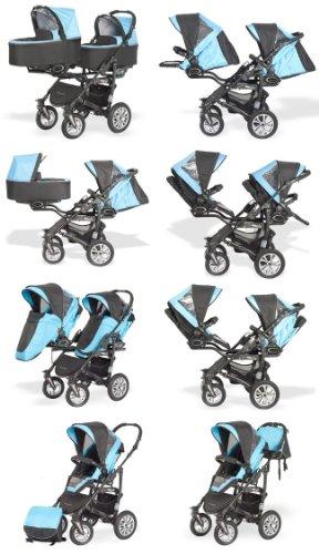 BabyActive Zwillingskinderwagen - 2