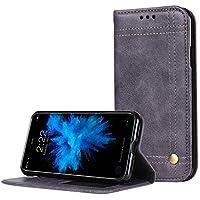 94f0a9e6b32 Funda Samsung Galaxy A8 2018,SunFay Premium Cuero PU Cover Magnético Flip  Folio Ranura para