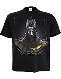 Spiral Men - Origins - Anubis - Assassins Creed T-Shirt Black
