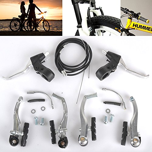 mountain-cycling-bmx-mtb-bike-bicycle-alloy-v-brake-levers-cables-complete-set