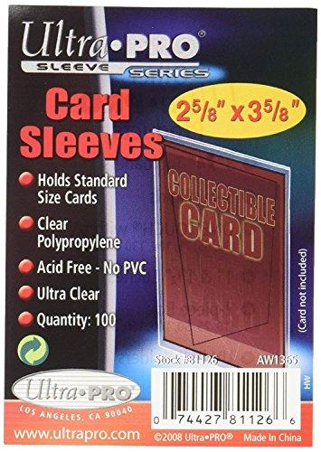 Ultra Pro Sleeves - Accesorios para tarjetas