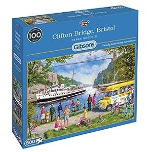 Gibsons Clifton Bridge, Rompecabezas Bristol, 500 Piezas