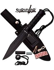 Knife Couteau de survie Survival Couteau de chasse Outdoor Camping HK de 786bk