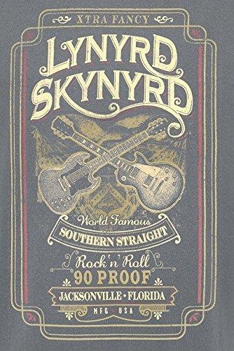Lynyrd Skynyrd Southern Straight T-Shirt Charcoal Charcoal