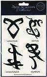 The Mortal Instruments City of Bones Temporary Tattoo Friendship Runes Set
