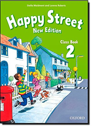 Happy Street 2: Class Book New Edition (Happy Second Edition) - 9780194730822