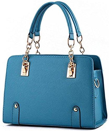 lianxingda ,  Damen Tasche Hellblau (Water Blue)