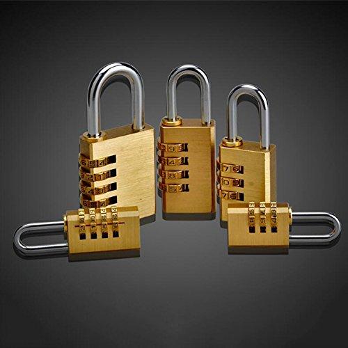 XQ Kombination Vorhängeschloss Gym Locker Türschloss Koffer Vorhängeschloss Passwort ( größe : 5 )