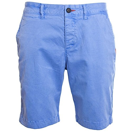 Superdry International Chino Short Charge Blue - M for sale  Delivered anywhere in UK