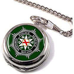 Police Service Northern Ireland Full Hunter Pocket Watch