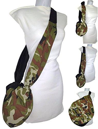 Modische Einkaufstaschen (Seesack / Umhängetasche / Schultertasche Militär. Tarnung A.CACERES. es ist klein und ist groß. Modische Tasche, Einkaufstasche, Sporttasche, Tasche für Helm, Beutel für Haustier. Maschinenwaschbar)