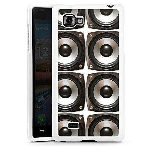 C75-box (DeinDesign LG Optimus 4X HD Hülle Silikon Case Schutz Cover Sound Lautsprecher Boxen)