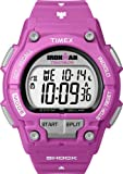 Timex Ironman Shock Resistant 30 Lap Pink Ladies Watch T5K432SU