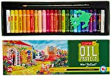 #10: Camlin Kokuyo Oil Pastel + Free 1 Drawing Pencil - 25 Shades
