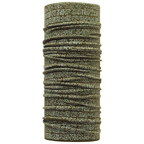 Buff - Fascia multifunzione in lana merino, modello National Geographic Multicolore Rongorongo Taglia unica