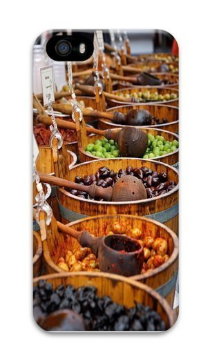 Borough Market PC Case Cover for iPhone 5 and iPhone 5s 3D Thanksgiving Day gift